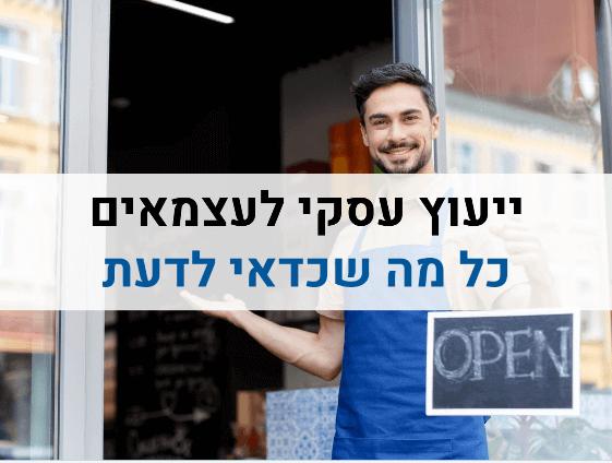 ייעוץ עסקי לעצמאים