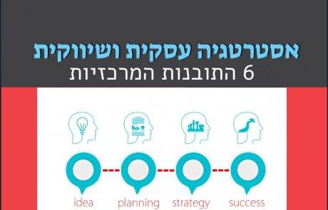 אסטרטגיה עסקית ושיווקית – 6 התובנות המרכזיות