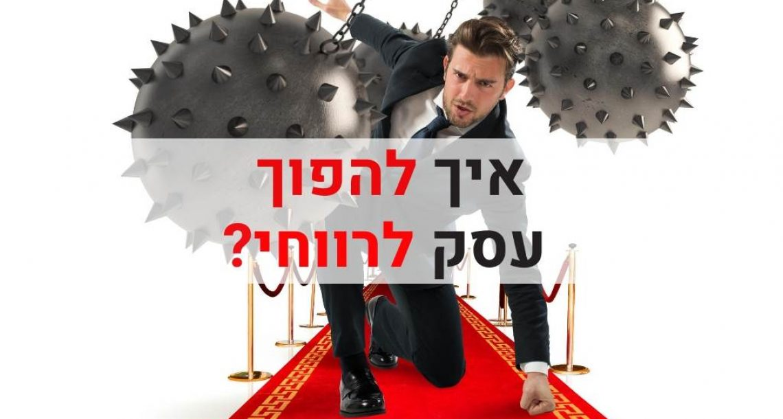 איך להפוך עסק לרווחי?